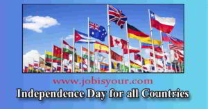 Independence Day for all Countries