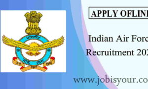 Indian Air Force Recruitment 2021 Group C Vacancy