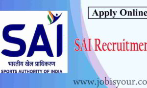 Recruitment in Sports Authority of India